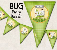 Bugs Birthday Party Banner Happy Birthday by missbellaexpressions,