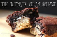 Süße Sonntagsgrüße: The Ultimate Vegan Brownie