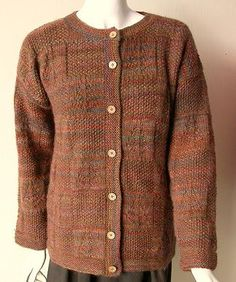 Knitting Pattern Boxy Jacket : 1000+ images about Free Patterns for Hand Knitted Sweaters on Pinterest Dro...