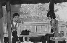 Kotonoha no Niwa (2013) #: #kotonohanoniwa #eljardindelaspalabras #chica #mujer #chico #boy #gardenofwords #anime #hombre  #illustration #draw #sketch #drawing #art #artistsoninstagram #dailysketch  #cute #adorable #fanart  #blackandwhite #traditional #traditionalart #ink #markers