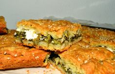 Εύκολη καλοκαιρινή χορτόπιτα με βλίτα! - cretangastronomy.gr Yami Yami, Spanakopita, Sandwiches, Food And Drink, Ethnic Recipes, Paninis