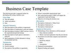13 best business case images on pinterest best photo boxes and resultado de imagen para business case template accmission Image collections