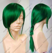 Hot Sell ! Popular NEW Long Dark Green Cosplay Wig