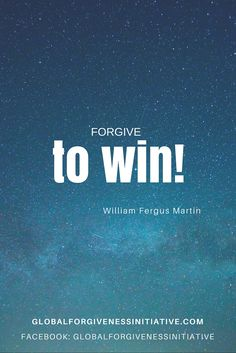 Forgive to win! When