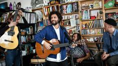 Performing his first new solo songs in seven years, this soft-spoken Swedish singer left an imprint at the Tiny Desk that was gentle and long lasting.