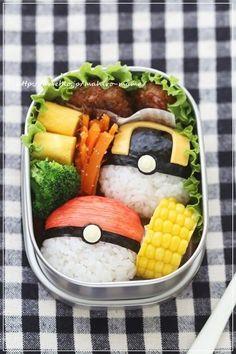 (1267) Pokemon Monster Ball Bento | Bento | Pinterest
