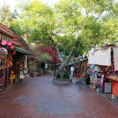 Olvera Street, Los Angeles, CA  Wonderful little historical spot!