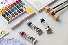 Art Supplies, Material, Watercolor, Inspiration, Watercolors, Watercolor Painting, Pen And Wash, Biblical Inspiration, Watercolour