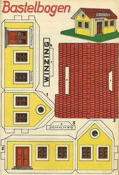 A really old model , preserved by Micky The Pixel. Um modelo realmente antigo, preservado por Micky The Pixel. Paper Doll House, Paper Houses, Diy Paper, Paper Art, Paper Crafts, Cardboard Toys, Paper Toys, Hildesheimer Dom, Free Paper Models