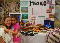 International Night Country Table Mexico- Kid World Citizen Pta School, Night School, School Events, Culture Day, Mexico Culture, Parent Night, Family Fun Night, International Festival, International Day