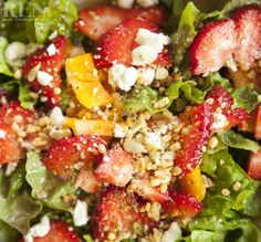 This is the most delicious salad ever - healthy, skinny, yummy! See recipe