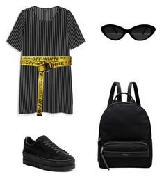 """""""Untitled #10"""" by daria-maria-17 on Polyvore featuring Monki, Off-White, Puma and Radley"""