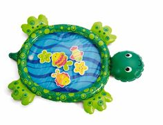 Amazon.com: Earlyears Deluxe Fill 'n Fun Water Mat Baby Toy: Baby