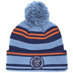 50d6db4e45bd3 Adult Adidas New York City FC Retro Cuffed Beanie ( 22) ❤ liked on Polyvore