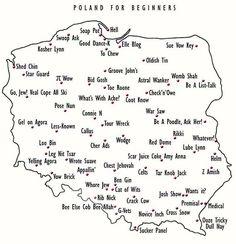 Pronunciation of names of polish cities for beginners : poland Learn Polish, Polish Memes, English For Beginners, Polish Language, Funny Mems, Best Dance, Quality Memes, English Vocabulary, Wtf Funny