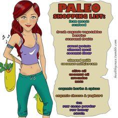 Paleo Shopping List
