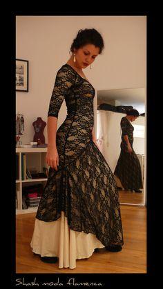 MODEL: Martinete PRICE: 150€ Flamenco Costume, Flamenco Dancers, Flamenco Dresses, Spanish Dress, Couture, Spanish Fashion, Gowns, Maxis, Formal