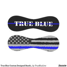 True Blue Custom Designed Baseball