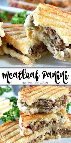 New No Cost Meatloaf Panini Tips Today I'm going showing you making the basic team sandwich. This double decker meal is out of thi Grill Sandwich, Deli Sandwiches, Meatloaf Sandwich, Healthy Sandwiches, Sandwiches For Lunch, Best Sandwich, Breakfast Sandwiches, Best Panini Recipes, Panini Sandwich Recipes