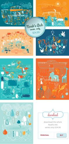 Love this Noah's Ark Series $24.99 for the entire downloadable pack