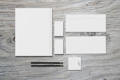Stationery / Branding - Mock-Up by Macrochromatic on Creative Market