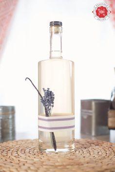 Make Your Own Lavender Vanilla Liqueur