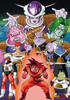 Poster Dragon Ball Z - Son Goku on Namek (98x68)