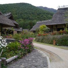 Historical Village, on Kawaguchi Lake, Fuji Five Lakes, Japan