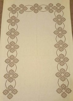 Blackwork Patterns, Cross Stitch Boards, Prayer Rug, Cross Stitch Embroidery, Embroidery Designs, Sewing, Cerberus, Lassi, Embroidered Towels