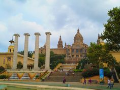 Museu Nacional d'Art de Catalunya is the national and the most significant museum in #Barcelona. The museum spans various magnificent art collections from Romanesque to Modern. #travel #spain