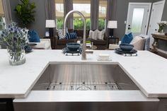Lenova is known for its impressive handcrafted sinks from an array of fine quality materials from globally sourced stone to sustainable harvested bamboo Ideas Decoración, Condo Remodel, Sink Faucets, Bamboo, Ss, House Ideas, New Homes, Siblings, Utility Sink Faucets