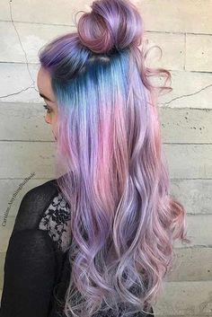 Nouvelle Tendance Coiffures Pour Femme  2017 / 2018   33 Cool Ideas of Purple Ombre Hair Ici vous trouverez une liste de 33 photos avec