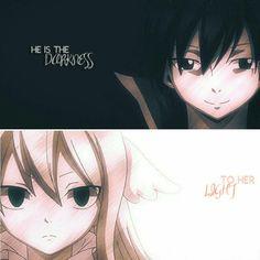 ZerVis || Fairy Tail || Anime Quote