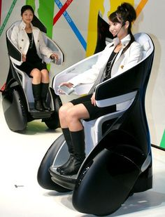 Futuristic wheelchairs and gorilla-inspired trucks: Crazy concept cars unveiled