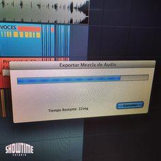 En @showtimeestudio con 2 temas más de @KruzioBaal48. Mezcla y mastering antes de la entrega. #kruziobaal #showtimeestudio #grabacion #mezcla #masterizacion #mastering #musica #estudio #malaga #bighozone