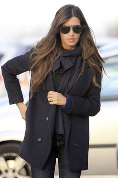 Sus mejores looks Off Duty Looks Street Style, Looks Style, Look Boho Chic, I Love Fashion, Womens Fashion, Mode Inspiration, Mode Style, Her Style, Autumn Winter Fashion
