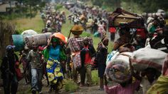 Refugees in Eastern DR Congo