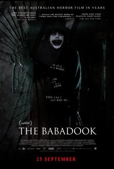 The Babadook. It could be in a word or a look but you can never get rid of the Babadook!