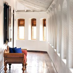 Fort Printers, beautifully appointed boutique hotel in the coastal Dutch fort town of Galle, Sri Lanka.