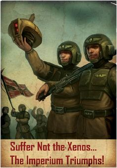 imperial guard recruiting poster warhammer - Google Search