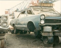 A 1967 Pontiac LeMANS Sprint OHC 6 giving up parts so others may live on.