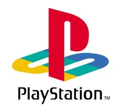 Lot of bright action colors. the P and S have been laid almost like the S is the pathway for P. Come to recognize the PS with or without the PlayStation text.