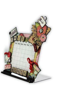 Monthly calendar - Scrapbook.com