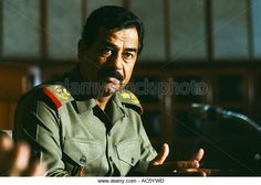SADDAM HUSSEIN SADDAM HUSSEIN DURING TIME  MAGAZINE INTERVIEW BAGHDAD JULY 1982 World despots - Stock Image