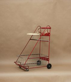 Vintage Childrens Amsco Shopping Cart Vintage by PluckedVintage, $78.00