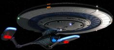 A fan-based design, also quite lovely, is USS Charleston with those interesting bent (almost winglike) nacelle supports. Less obvious in this pic is the arrow-shaped array atop (like the Nebula-Class)
