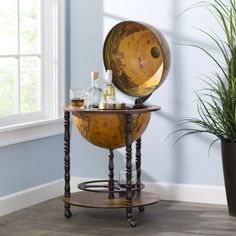 Astoria Grand Corene Sixteenth Century Italian Replica Mini Bar & Reviews | Wayfair