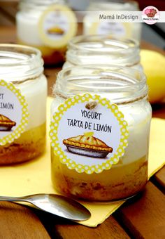 Easy Lunches For Work, Mason Jar Desserts, Dessert In A Jar, Vintage Baking, Good Food, Yummy Food, Desert Recipes, Cooking Time, Baking Recipes