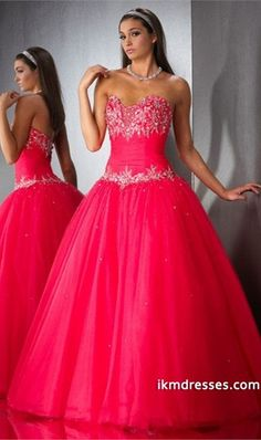 http://www.ikmdresses.com/Ball-Gown-Floor-Length-Applique-Organza-Zipper-Up-Quinceanera-Dresses-With-Beading-Sequins-p84632