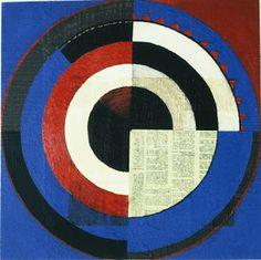 Deconstructed Jasper Johns target